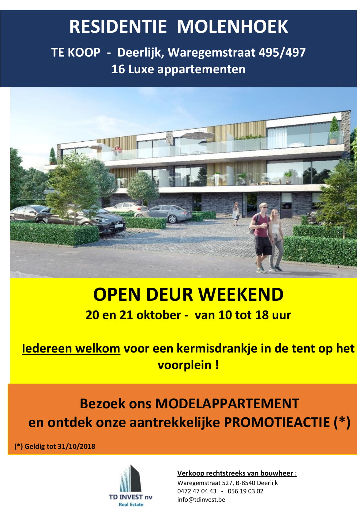 OPENDEUR WEEKEND 20 & 21 oktober!